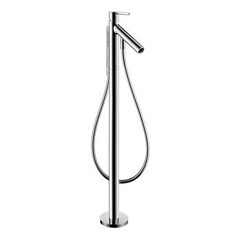 Axor Starck Однорычажный смеситель для ванн напольный, цвет: хром