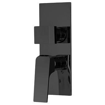 Carlo Frattini Fit Смеситель для душа, на 2/3 источника, встраиваемый, цвет: черный матовый
