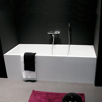 Antonio Lupi Biblio Ванна пристенная (2стороны) 170х70х53.5 см в комплекте с регулируемыми ножками и донным сливным клапаном типа clik-clak.