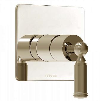 Bossini Liberty Смеситель для душа, встраиваемый, с девиаторм 1 направления, цвет: никель матовый