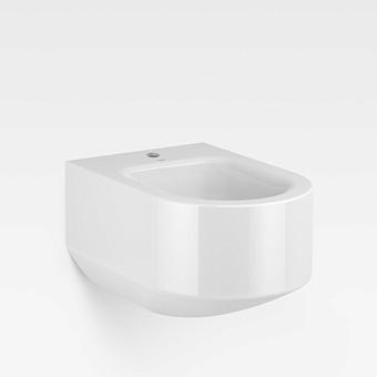 Armani Roca Baia Биде подвесное 56x38x30см с 1 отв. под смеситель, цвет: белый