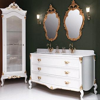 Gaia Brigitte Комплект мебели 190x61.5x83 см, белый / золото
