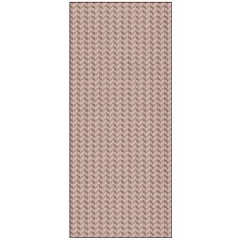 Ornamenta Operae Керамическая плитка 120х278см, настенная, декор: Chevron Pink