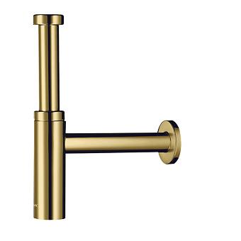 Hansgrohe Flowstar Сифон для раковины, дизайнерский, цвет: золото