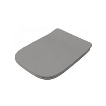 Artceram A16 Сиденье для унитаза с микролифтом, цвет: grigio oliva, петли: хром