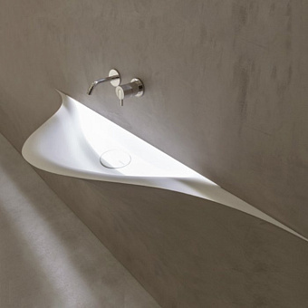 Antonio Lupi Silenzio Раковина встраиваемая 83х48х79 см с Led подсветкой