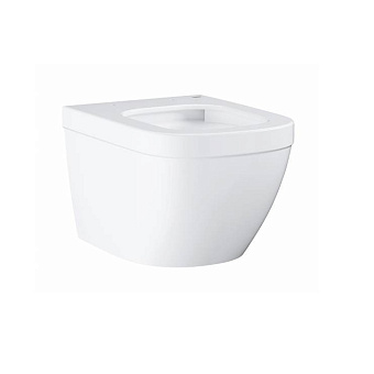 Grohe Euro Ceramic Унитаз, 49x37 см, подвесной, слив в стену, цвет: белый
