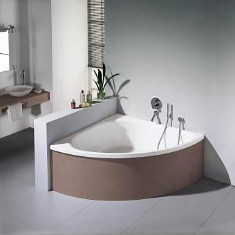 Bette Arco Ванна 140х140х45 см, угловая, с шумоизоляцией, BetteGlasur® Plus, цвет: белый