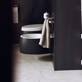 Agape Pear 2 Унитаз подвесной 38x52.8x25.5 см, сиденье с микролифтом, цвет: bicolore