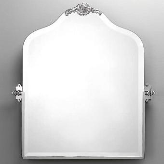 Devon&Devon Mayfair Зеркало поворотное с орнаментом, цвет: хром