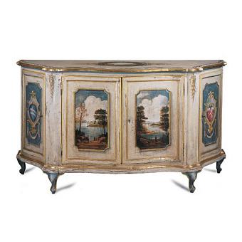 Mobili Di Castello Decori Шкаф напольный 100х180х50 см, украшения ручной работы