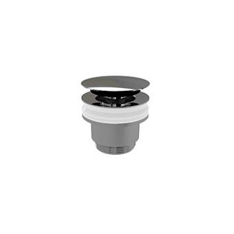 Devon&Devon Донный клапан CLICK-CLACK без перелива, цвет: хром