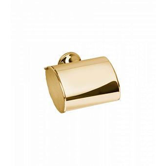 Держатель для туалетной бумаги Bongio Fleur, подвесной монтаж, цвет: золото 24к.