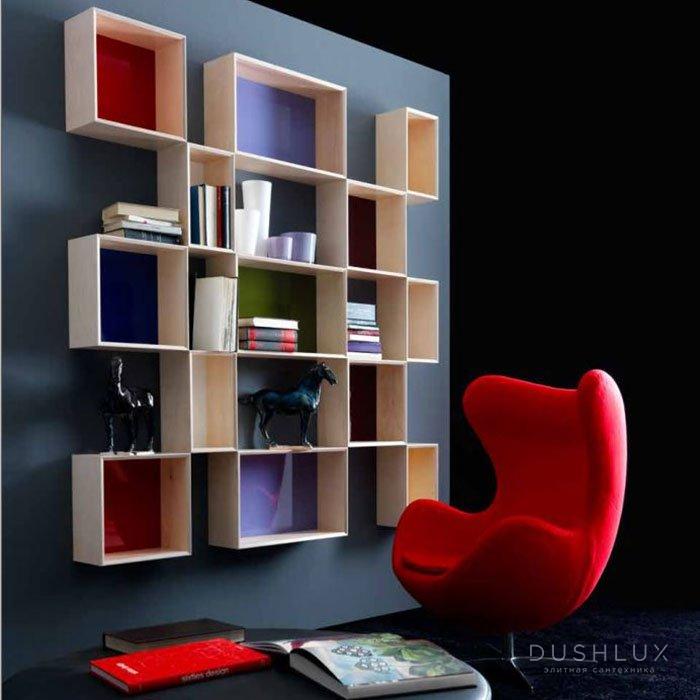 Karol Free Design KAPPA Подвесная композиция из модульных ящиков 171х20хh171 см. цвет: Betulla Natural