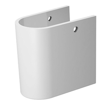 Duravit Darling New Полупьедестал 180x230 мм для 262165, 262160, 262155, цвет: белый