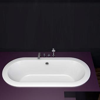 BETTE Starlet Ванна 185х85х42 см, с шумоизоляцией, BetteGlasur® Plus, цвет: белый