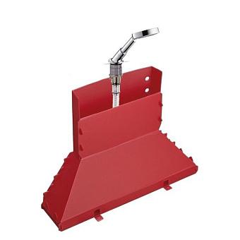 Axor Starck Набор Secuflex на край ванны, с ручным душем, цвет: хром