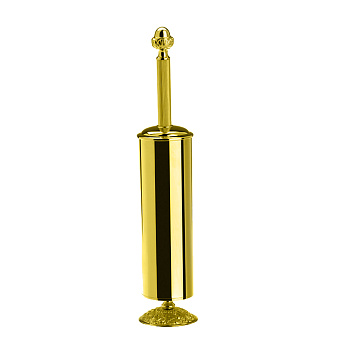 StilHaus Noto Light Напольный металлический ерш, цвет: золото/стекло