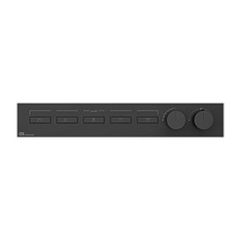 Gessi Hi-Fi Термостат для душа, с включением до 5 источников одновременно, цвет: Black Metal Brushed PVD