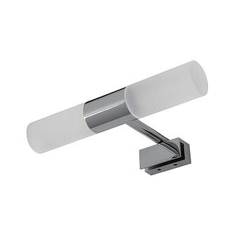 Noken Urban C Бра двойное LED 6 Вт для установки на зеркале, IP44, цвет: хром