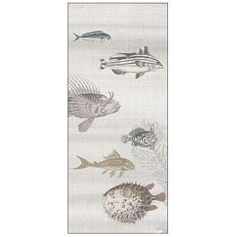 Ornamenta Operae Керамическая плитка 120х278см, настенная, декор: Aquarium Beige