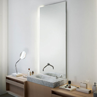 Agape Nudo LED Зеркало настенное 180x80x3.8 см с LED подсветкой