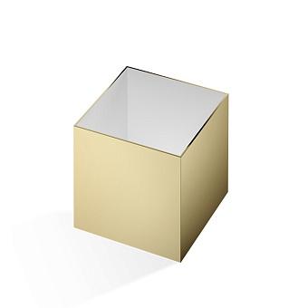 Decor Walther Cube DW 356 Баночка универсальная 13x13x14см, цвет: золото