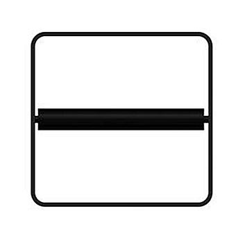 Bertocci Fly Держатель для туалетной бумаги, подвесной, цвет: черный матовый