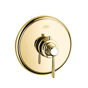 Axor Montreux Термостат 43 л / мин, встраиваемый, СМ (рычажные рук.), цвет: полированное золото