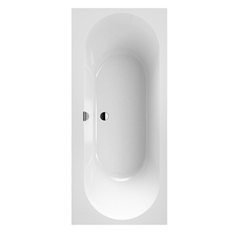 Villeroy&Boch Oberon 2.0 Ванна встраиваемая, 170x75 см, прямоугольная, цвет: белый