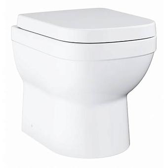 Grohe Euro Ceramic Унитаз 48x37 см, универсальный слив, приставной, цвет: белый