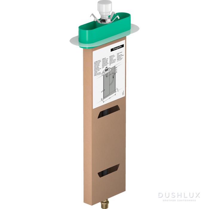 Hansgrohe sBox Шланговый короб для ванны, скрытая часть