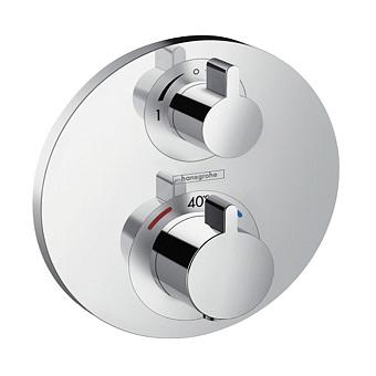 Hansgrohe Ecostat S Термостатический смеситель на 2 потребителя, цвет: хром