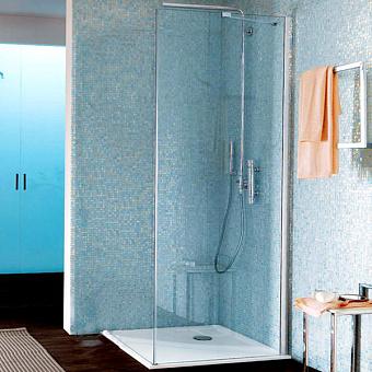 SAMO Zenit Боковая стенка 86,5-89x200см, прозрачное стекло, хром (10216100/080413/0034754/1, Италия)