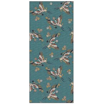Ornamenta Operae Керамическая плитка 120х278см, настенная, декор: Birds Green