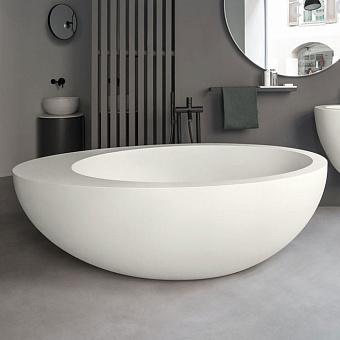 Cielo Le Giare Ванна 190x119xh60 см, отдельностоящая, цвет: матовый белый