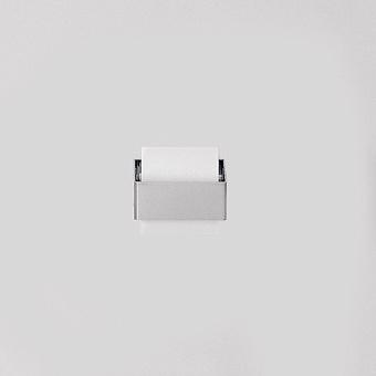 Agape 369 Держатель туалетного рулона из нержавеющей стали, цвет: глянец