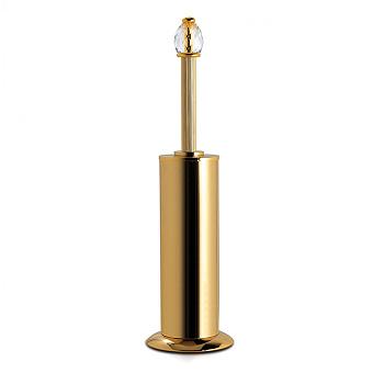 3SC Sharm Туалетный ёршик, напольный, цвет: золото 24к. Lucido