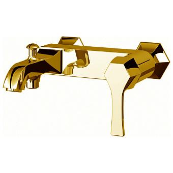 CISAL Cherie Смеситель однорычажный настенный для ванны/душа, цвет золото