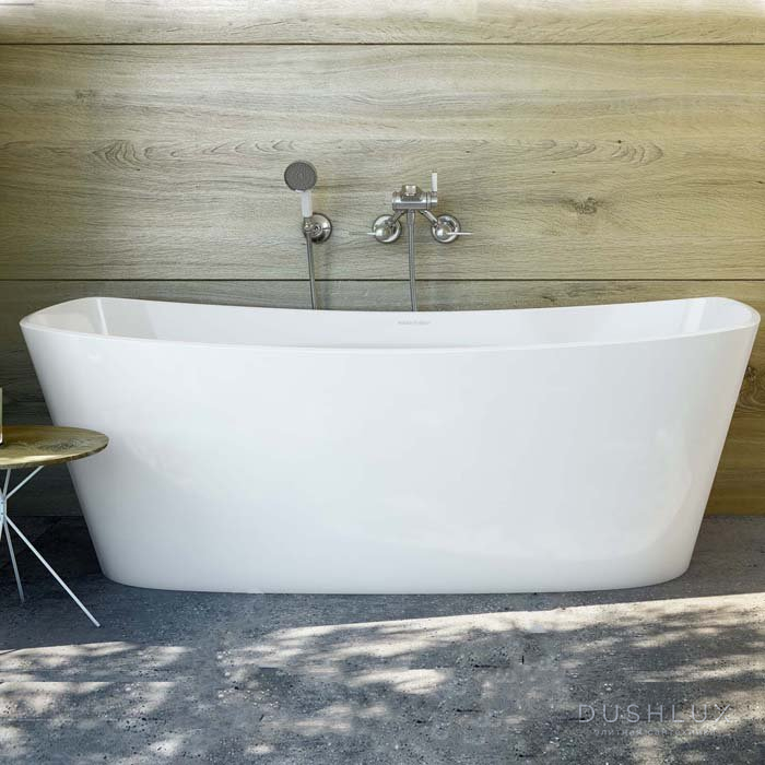 Victoria + Albert Trivento, Ванна, 165х70.7х58 см, цвет: белый