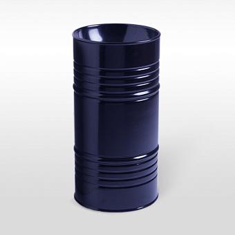 Kerasan Artwork Barrel Раковина 45х90 см, без отв., напольная, слив в пол, в комплекте сифон, цвет: Blu cobalto lucido