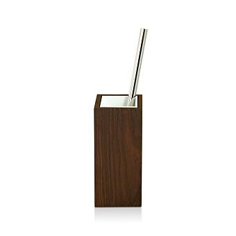 Decor Walther Wood SBG Туалетный ершик, напольный, цвет: темный ясень