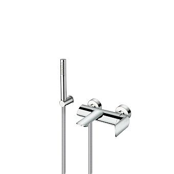 Cristina Profilo Смеситель для ванны с ручным душем, 3 отв., цвет: хром