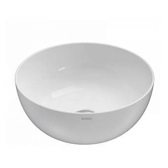 GLOBO T-Edge Раковина-чаша 30х16 см, без отв., на столешницу, цвет: белый
