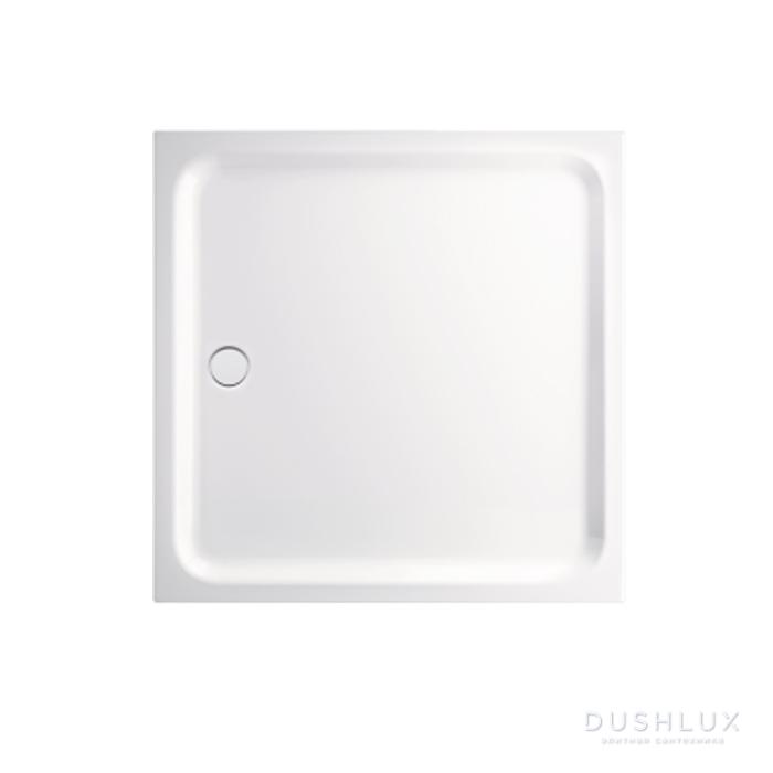 BETTE Душевой поддон 110х110см , ультраплосский 6,5 см d90см, с покрытием антислип, цвет белый