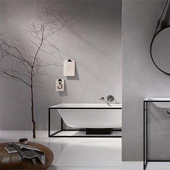 Bette Lux SHAPE Ванна отдельностоящая 190x90x45 см, прямоугольная, на черном каркасе, покрыта эмалью снаружи и изнутри, BetteGlasur® Plus, цвет: белый