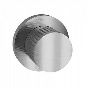 Bongio Time 2020 Переключающий вентиль на 2 источника, цвет: нержавеющая сталь