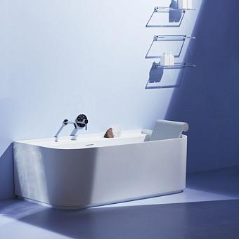 Laufen Sonar Ванна 1600x815х460мм, пристенная, с слив-переливом, материал: композит, цвет: белый