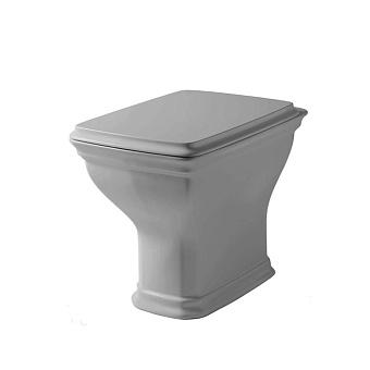 Artceram Civitas Унитаз напольный 36x54 см со сливом в стену, цвет: серый