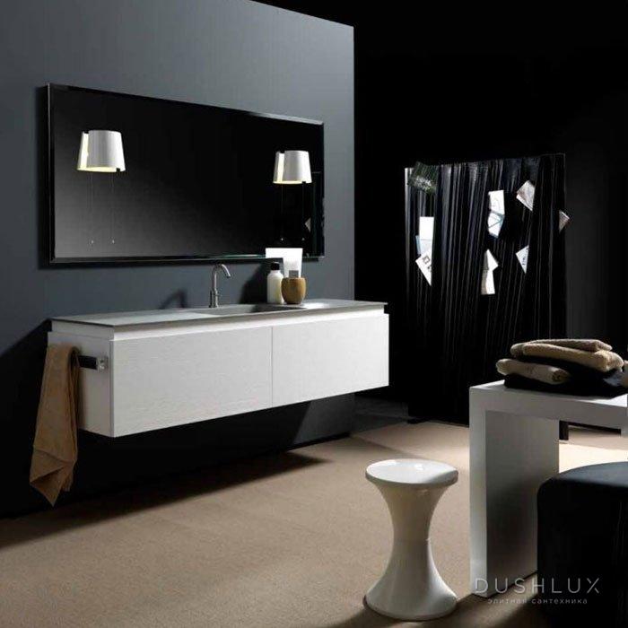 Karol KS comp. №7, комплект подвесной мебели 180 см. цвет: Yellow Pine Bianco Opaco